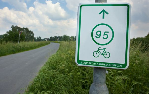 Eindeloze fietsroutes
